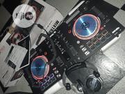 Numark Mixtrack Pro3 + Big DDJ Headphone | Headphones for sale in Lagos State, Ikorodu