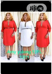 Ladies Curved Hem Midi Dress | Clothing for sale in Lagos State, Ikeja