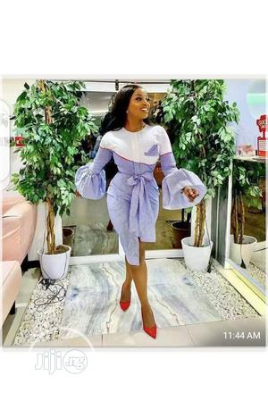 Ladies Long Flay Hand Mini Dress | Clothing for sale in Lagos State, Ikeja