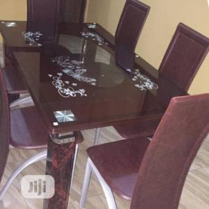 Flawless Glass Top Dining Table   Furniture for sale in Lagos State, Victoria Island