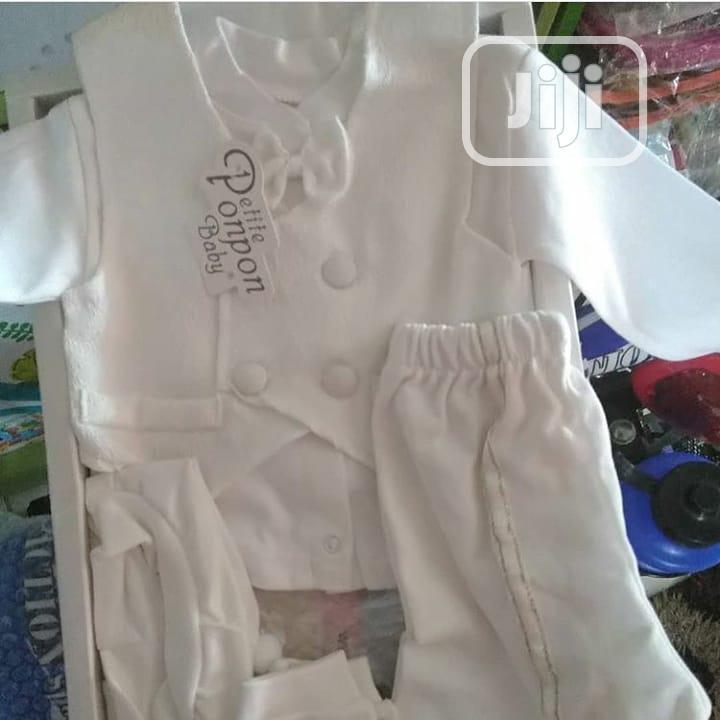 Baby Boy Christening Cloth
