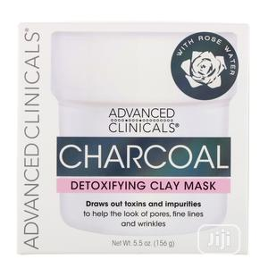 Charcoal Detoxifying Mask With Rose Water 156g   Skin Care for sale in Lagos State, Ifako-Ijaiye