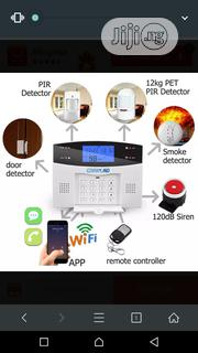 Wifi GSM Burglar Detector Alarm Automatic Dialing IOS Android APP | Safety Equipment for sale in Lagos State, Ikeja