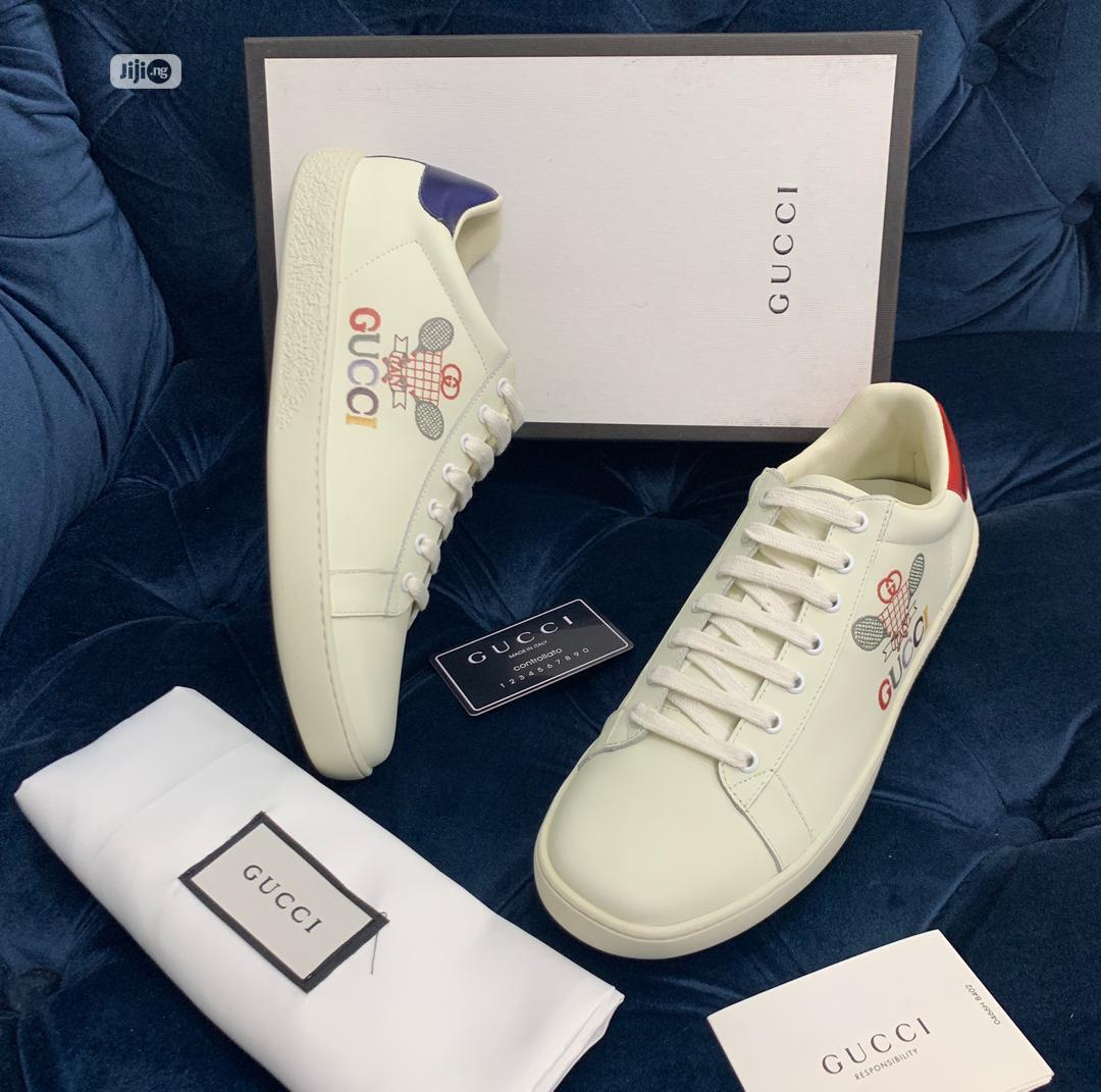 Gucci Canvas Available as Seen Order Yours Now   Shoes for sale in Lagos Island (Eko), Lagos State, Nigeria