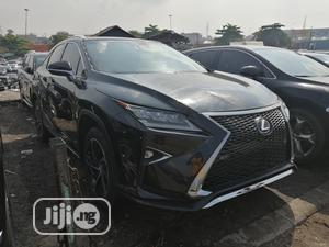 Lexus RX 2017 350 FWD Black   Cars for sale in Lagos State, Apapa