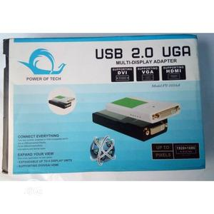 USB Multi Dispaly Adapter to VGA   Accessories & Supplies for Electronics for sale in Lagos State, Ikeja