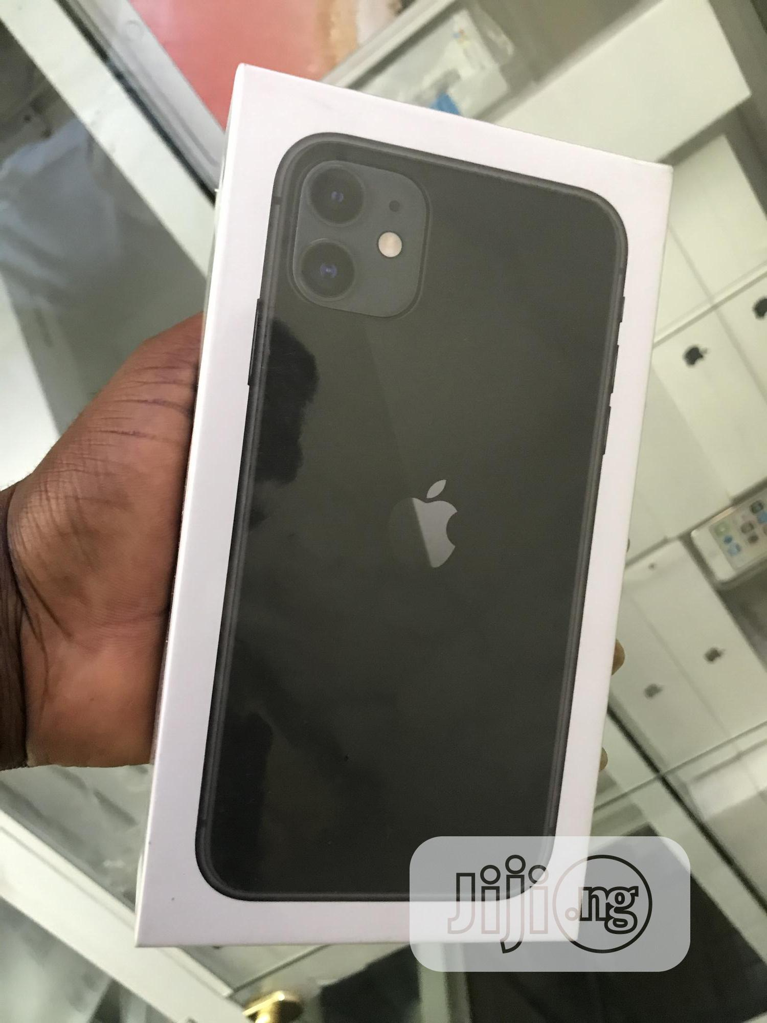 New Apple iPhone 11 128 GB Black | Mobile Phones for sale in Ikeja, Lagos State, Nigeria