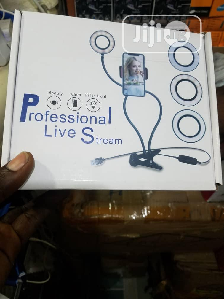 Archive: This Is Professional Live Stream Phone Holder With Ring Light