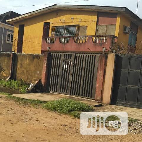 Block Of 4units 3bedroom Flats At Ijegun For Sale