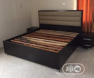 Family Size Bedframe With Bedside Cabinets | Furniture for sale in Lagos State
