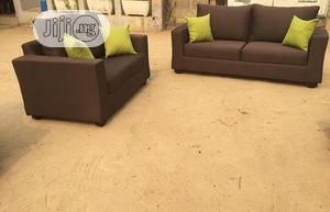 Five Seaters Brown Color Chair | Furniture for sale in Lagos State