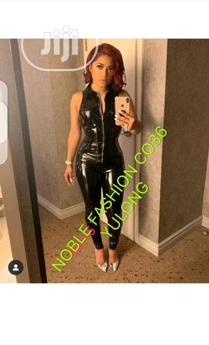 Ladies Bodycon Leather Jumpsuit   Clothing for sale in Lagos State, Ikeja