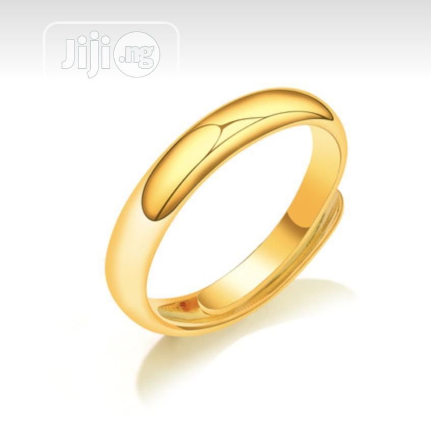 Men Wedding Ring 18k, Wedding Band - Adjustable | Wedding Wear & Accessories for sale in Ibadan, Oyo State, Nigeria