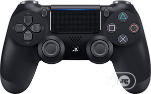 Sony Playstation Dualshock 4 Controller - Black   Video Game Consoles for sale in Lagos State, Ikeja