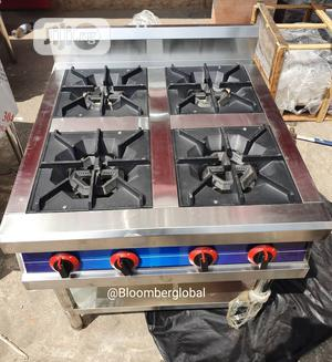 Industrial Gas Cooker 4 Burners Without Oven (Standing)   Restaurant & Catering Equipment for sale in Lagos State, Ojo
