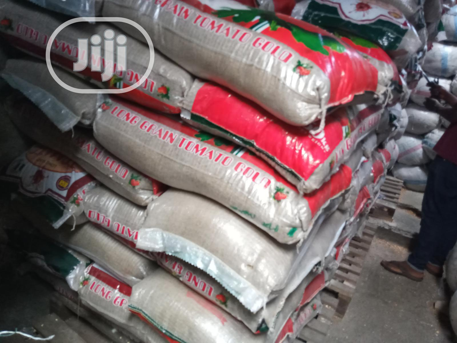 Tomato Gold Nigeria Local Quality Sand Free Rice | Meals & Drinks for sale in Surulere, Lagos State, Nigeria