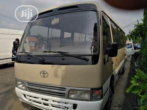 Toyota Coaster Bus 2004 Leather Interior   Buses & Microbuses for sale in Lagos State, Ikeja
