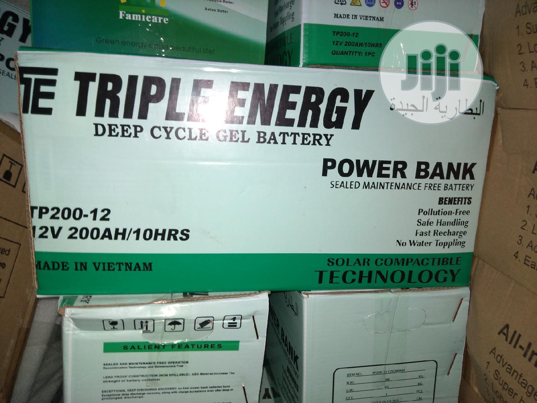 200ah/12v Triple Energy Battery