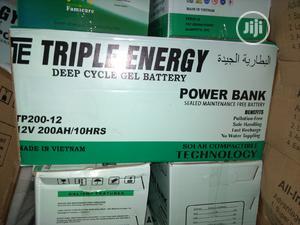 200ah/12v Triple Energy Battery | Solar Energy for sale in Lagos State, Ojo