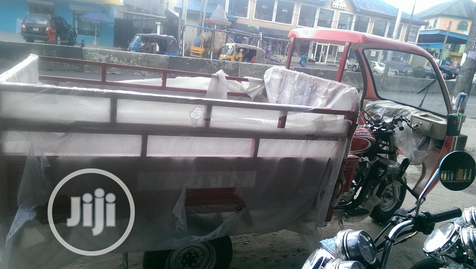 New Tricycle 2019 Red | Motorcycles & Scooters for sale in Port-Harcourt, Rivers State, Nigeria