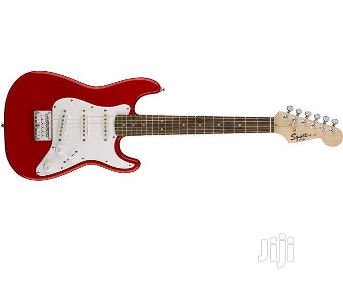 Squier Fender Squier Mini Strat With Rosewood Fingerboard Red