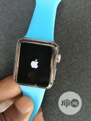 Apple Iwatch Series 3 42mm GPS+CELL UK Used | Smart Watches & Trackers for sale in Lagos State, Ikeja