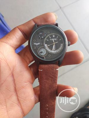 Nepic Brown Leather Watch | Watches for sale in Rivers State, Port-Harcourt