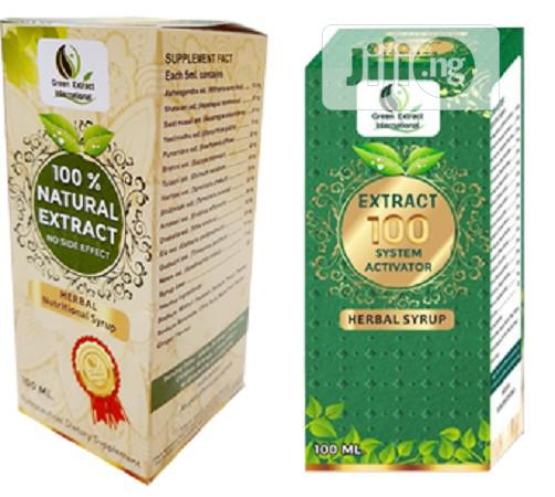 Archive: Green Extract - Extract 100