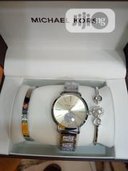 Michael Kors Female Silver Wristwatch & Bracelet   Jewelry for sale in Lagos State, Surulere