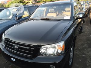 Toyota Highlander 2006 Limited V6 4x4 Black | Cars for sale in Lagos State, Apapa