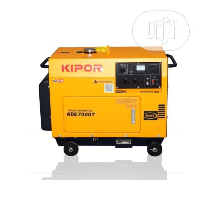Kipor Kipor Diesel Generator KDE 7000 T(Prepaid Only)
