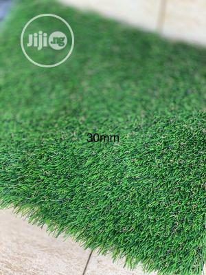 Original & Durable 30mm Artificial Green Grass Carpet For Sale. | Garden for sale in Lagos State, Ikorodu