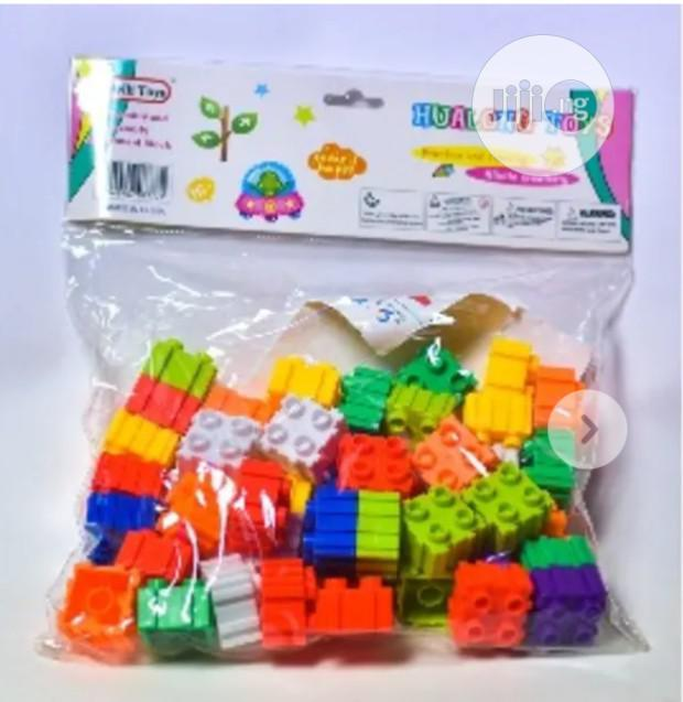 Archive: Educational and Creative Puzzle-Block Shape-Making Toy - Design 2