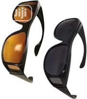 2 In 1 Anti Glare Glasses For Night Driving.. Computer Users Etc | Clothing Accessories for sale in Lagos State, Ikeja