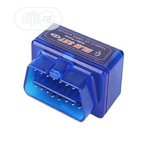 Mini OBD2 Bluetooth Car Auto Diagnostic Scanner - ELM | Vehicle Parts & Accessories for sale in Ikeja, Lagos State, Nigeria