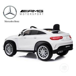 White Coupe Ride on Car Mercedes Benz GL 63 Toy | Toys for sale in Lagos State, Lagos Island (Eko)