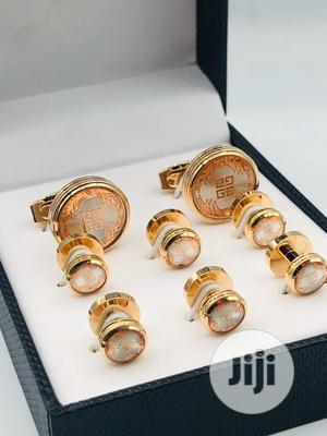 Givenchy Rose Gold Cufflinks Set | Watches for sale in Lagos State, Lagos Island (Eko)