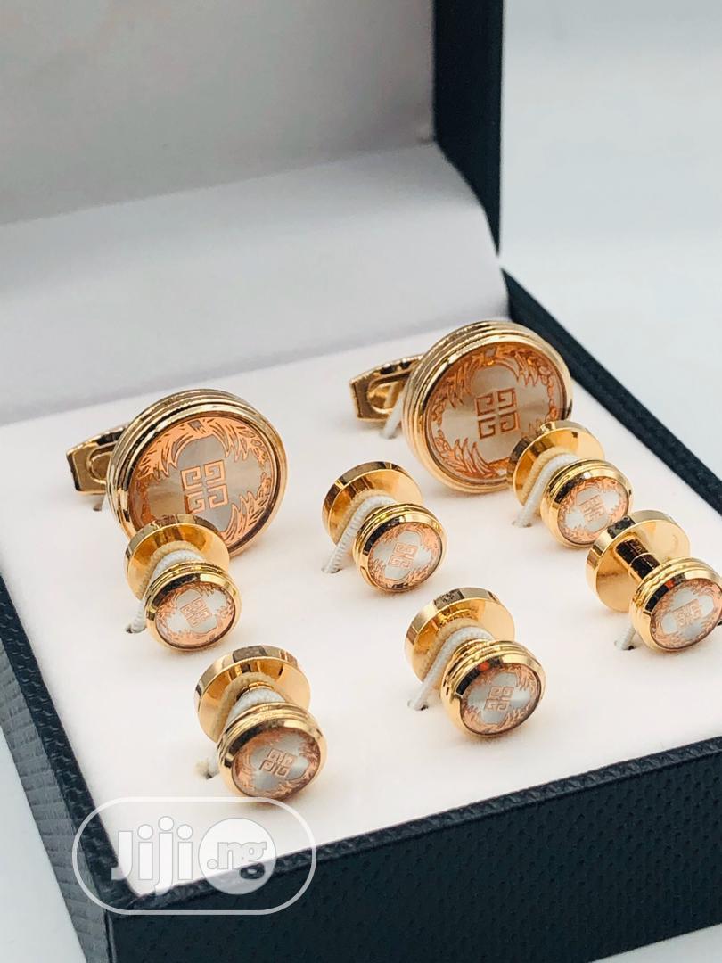 Givenchy Rose Gold Cufflinks Set