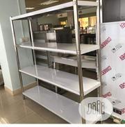 Stainless Steel Shelve Rack 4ft | Store Equipment for sale in Lagos State, Ojo