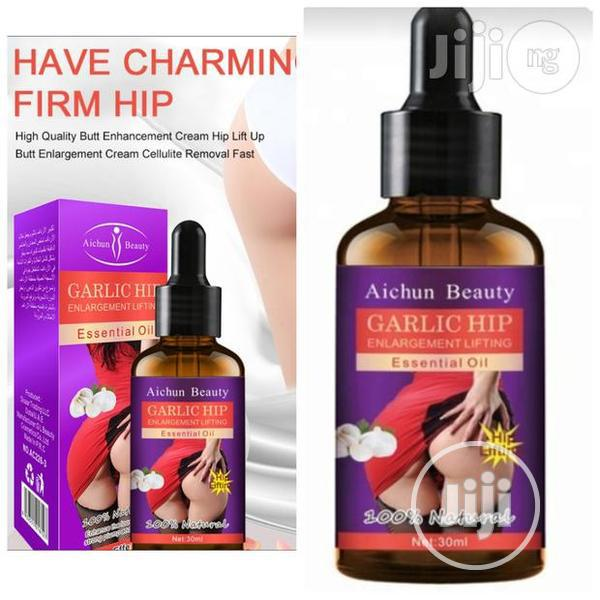 Aichun Beauty Garlic Hip Enlargement Lifting Essential Oil - 3 Days | Sexual Wellness for sale in Alimosho, Lagos State, Nigeria