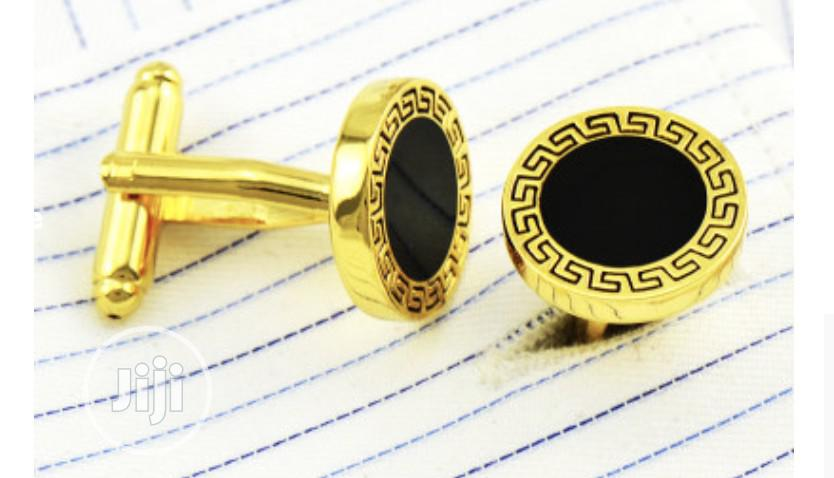 Men's Golden Cufflinks | Clothing Accessories for sale in Egbeda, Oyo State, Nigeria