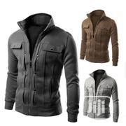 Cardigan Sweater Full-Zip Polar Fleece Jacket- New Design | Clothing for sale in Oyo State, Ibadan
