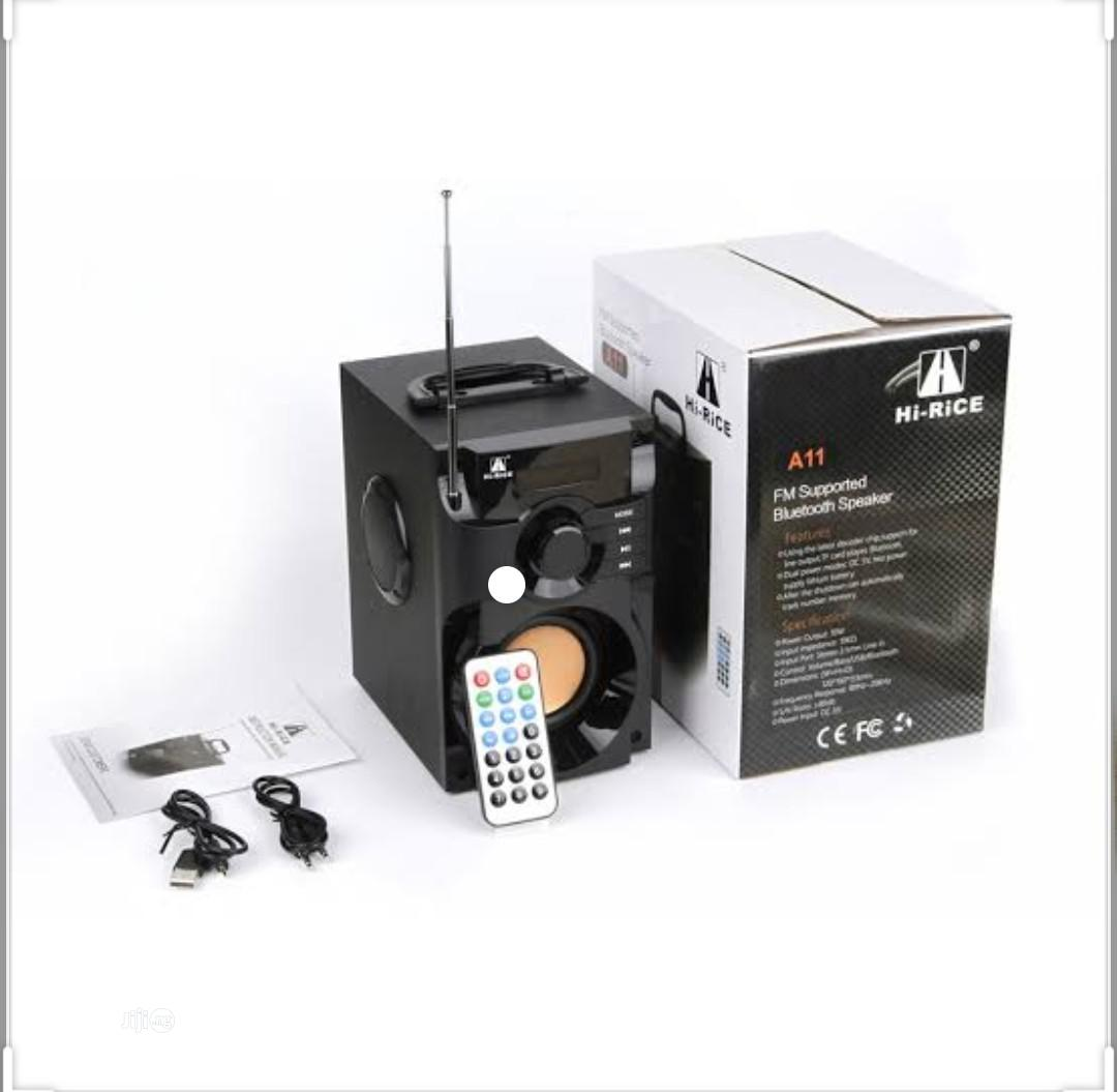 A11 FM Supported Bluetooth Speaker | Audio & Music Equipment for sale in Port-Harcourt, Rivers State, Nigeria