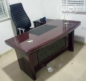 Supermax Executive Office Table(1.6M)With Extensions. | Furniture for sale in Lagos State, Ilupeju