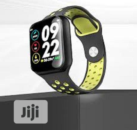Waterproof Heart Rate Monitor Blood Pressure,Blood Oxygen Smart Watch   Smart Watches & Trackers for sale in Ikeja, Lagos State, Nigeria