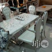 Royal ITALIAN Marble Dinning Table Set | Furniture for sale in Lagos State