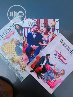 Colourful Wedding Programs And Invitation Card | Wedding Venues & Services for sale in Abuja (FCT) State, Central Business Dis