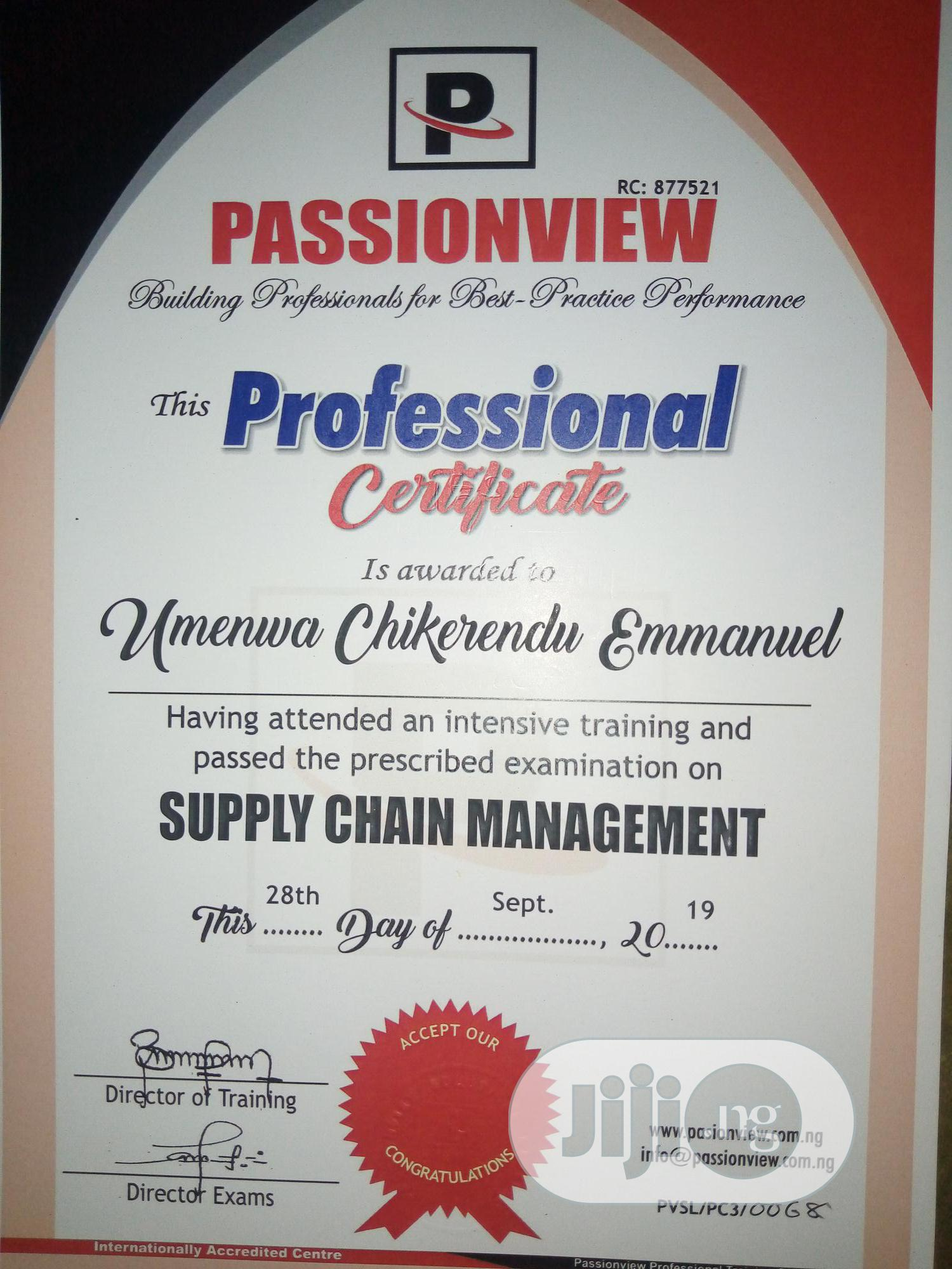 Entry-level | Management CVs for sale in Port-Harcourt, Rivers State, Nigeria