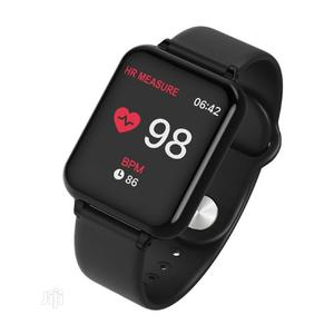 B57 Waterproof Smart Monitor & Fitness Bracelet - Black | Smart Watches & Trackers for sale in Lagos State, Ikeja