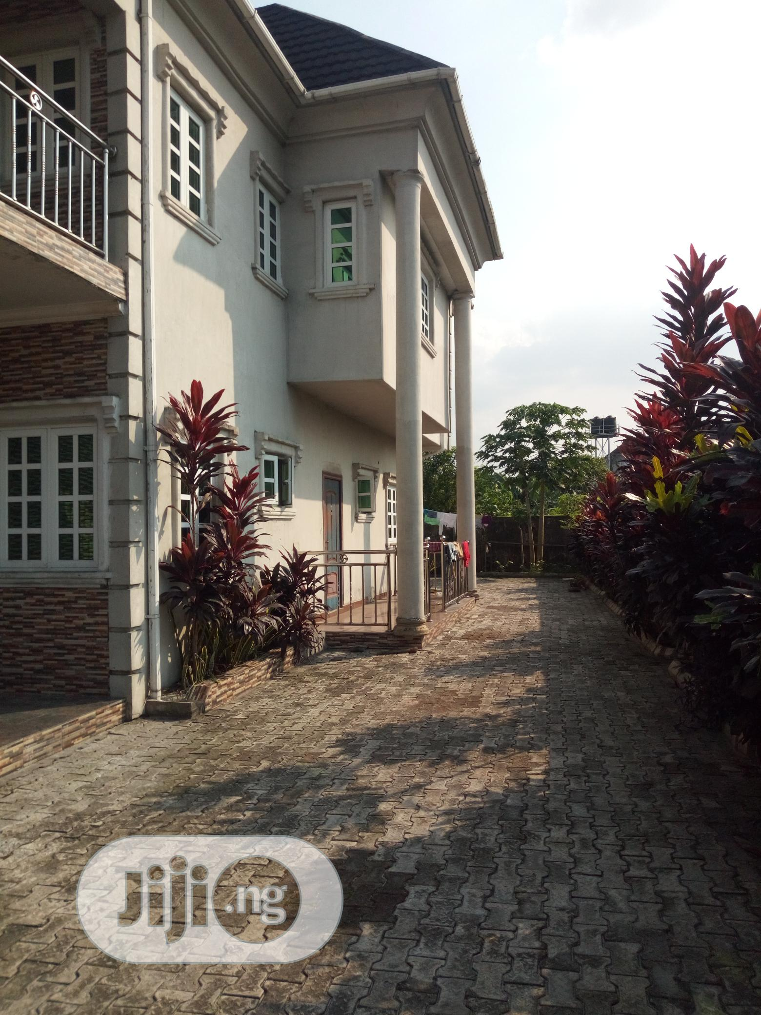 Brand New 4bedroom Duplex With Bq And Federal Light In Eliozu PH | Houses & Apartments For Sale for sale in Port-Harcourt, Rivers State, Nigeria